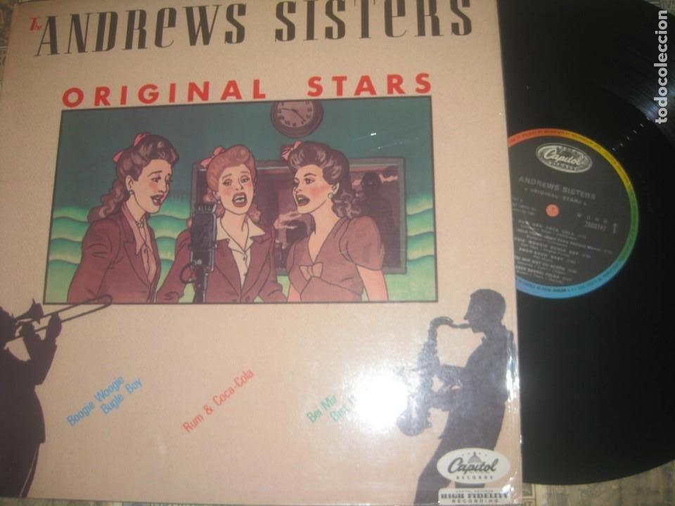 THE ANDREWS SISTERS ORIGINAL STARS (CAPITOS 1958-1984) OG FRANCIA (Música - Discos - LP Vinilo - Jazz, Jazz-Rock, Blues y R&B)