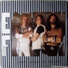 Discos de vinilo: EF BAND.LAST LAUGH IS ON YOU...METAL SUECIA..1º ALBUM..MUY RARO...EX. Lote 229178930