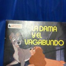 Discos de vinilo: CUENTO-DISCO, LA DAMA Y EL VAGABUNDO,. Lote 246493590