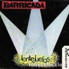 """Disques de vinyle: BARRICADA - SINGLE """"LENTEJUELAS"""". Lote 229183865"""