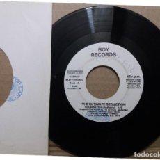 Discos de vinilo: THE ULTIMATE SEDUCTION / HOUSE NATION / SINGLE 7 INCH. Lote 229206195