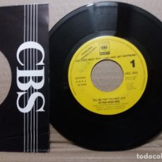 Disques de vinyle: CULTURE BEAT FEAT. LANA AND JAY SUPREME / TELL ME THAT YOU WAIT / SINGLE 7 INCH. Lote 229209240