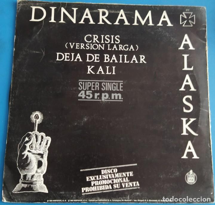 """DINARAMA + ALASKA - DEJA DE BAILAR (12"""", MAXI, PROMO) (Música - Discos de Vinilo - Maxi Singles - Grupos Españoles de los 70 y 80)"""