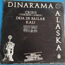 "Discos de vinilo: DINARAMA + ALASKA - DEJA DE BAILAR (12"", MAXI, PROMO). Lote 229212280"