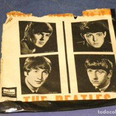 Discos de vinilo: EXPROBS1 DISCO 7 PULGADAS ESTADO VINILO ACEPTABLE THE BEATLES TICKET TO RIDE. Lote 229216190