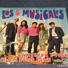 Discos de vinilo: EXPROBS1 DISCO 7 PULGADAS ESTADO VINILO MUY BUENO LOS 5 MUSICALES CASATSHOK Y VODKA. Lote 229217105