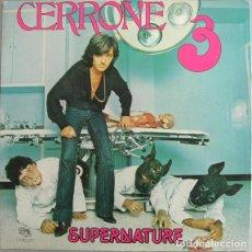 Discos de vinilo: CERRONE - CERRONE 3 - SUPERNATURE. Lote 229220050