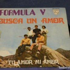 Discos de vinilo: EXPROBS1 DISCO 7 PULGADAS ESTADO VINILO MUY BUENO FORMULA V BUSCA UN AMOR. Lote 229228400