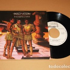 Discos de vinilo: IMAGINATION - EL CALOR DE LA NOCHE (IN THE HEAT OF THE NIGHT) - SINGLE - 1982. Lote 229233415