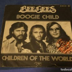 Discos de vinilo: EXPROBS1 DISCO 7 PULGADAS ESTADO VINILO ACEPTABLE BEE GEES BOOGIE CHILD. Lote 229234675