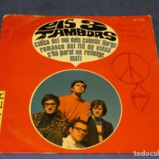 Discos de vinilo: EXPROBS1 DISCO 7 PULGADAS ESTADO VINILO ACUSA TUTE ELS TRES TAMBORS ROMANÇO DEL FILL DE VIDUA. Lote 229235660