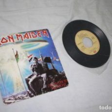Discos de vinilo: IRON MAIDEN - 2 MINUTES TO MIDNIGHT - ESPAÑA - 1984 - VG-/VG. Lote 229240025