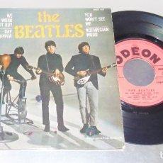 Discos de vinilo: THE BEATLES --WE CAN WORK IT OUT +3 EDICION FRANCESA --- NEAR MINT ( NM ). Lote 229241125