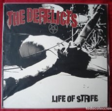 Discos de vinilo: THE DERELICTS - LIFE OF STRIFE. LP VINILO. NUEVO. PRECINTADO.. Lote 229246345