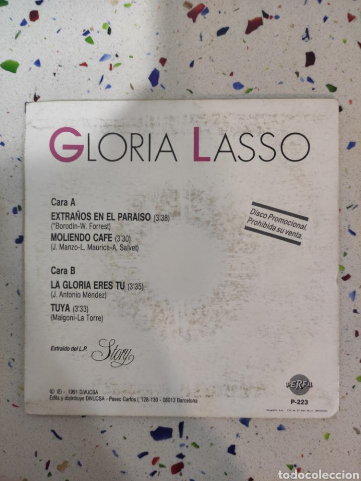 Discos de vinilo: GLORIA LASSO E P extraños en el paraíso - Foto 2 - 229255025