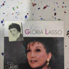 Discos de vinilo: GLORIA LASSO E P EXTRAÑOS EN EL PARAÍSO. Lote 229255025