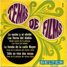 Discos de vinilo: GEORGES AURIC / ORCHESTRE DE L'ETOILE - TEMAS DE FILMS - EP SPAIN 1967 - BELTER 51.858. Lote 229255760