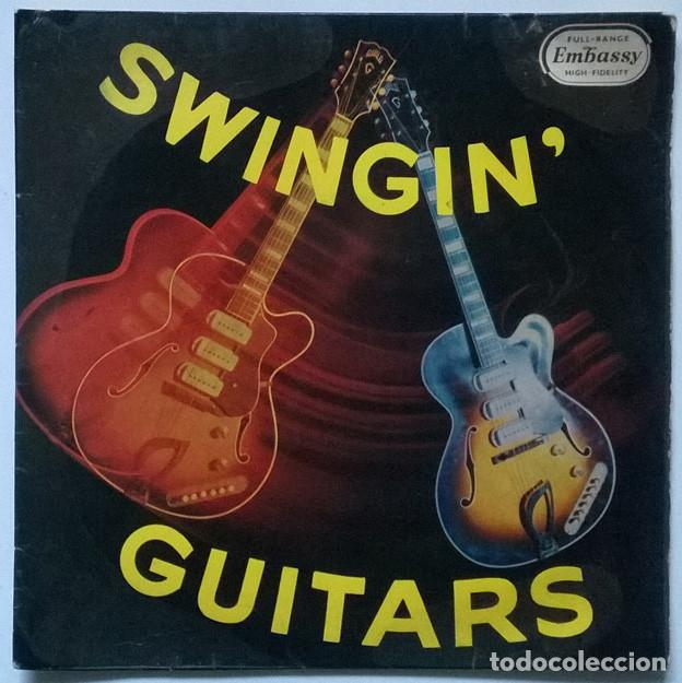 BUD ASHTON & HIS GROUP. SWINGIN GUITARS: APACHE/ MAN OF MISTERY/ PETER GUN + 3. EMBASSY, UK 1961 EP (Música - Discos de Vinilo - EPs - Pop - Rock Internacional de los 50 y 60)