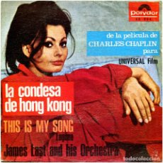 Discos de vinilo: JAMES LAST AND HIS ORCHESTRA - THIS IS MY SONG (LA CONDESA DE HONÇG KONG) - SG SPAIN 1967 - POLYDOR. Lote 229265205