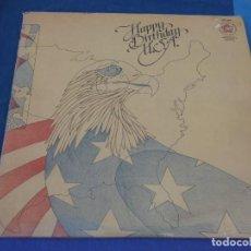 Discos de vinilo: CAJJ105 DOBLE LP UK 1976 HAPPY BIRTHDAY USA BUEN ESTADO RECOPILTARIO MUSICA POPULAR. Lote 229285875