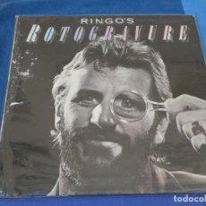 Discos de vinilo: CAJJ105 LP UK 1976 RINGO STAR ROTROGRAUVE UK 1976 VINILO MUY BUEN ESTADO. Lote 229286105