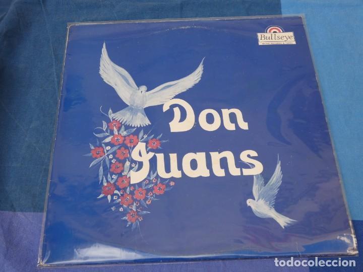 CAJJ105 LP THE DON JUANS IDEM EN BULLEYES RECORDS BUEN ESTADO MUY RARO (Música - Discos - LP Vinilo - Jazz, Jazz-Rock, Blues y R&B)