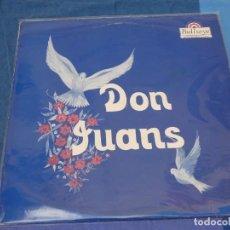 Discos de vinilo: CAJJ105 LP THE DON JUANS IDEM EN BULLEYES RECORDS BUEN ESTADO MUY RARO. Lote 229286490