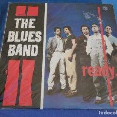Discos de vinilo: CAJJ105 LP THE BLUES BAND READY 1980 VINILO MUY BUEN ESTADO CON SOLO LINEAS MUY MENORES. Lote 229286710