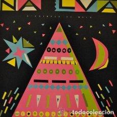 Discos de vinilo: NA LUA & UXIA - A ESTRELA DE MAIO - LP VINILO - EDIGAL 1987 - NUEVO CON ENCARTE. FOLK GALICIA GALIZA. Lote 229295980