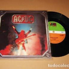 Discos de vinilo: AC/DC - HIGH VOLTAGE - SINGLE - 1980 - IMPORT. Lote 229308065