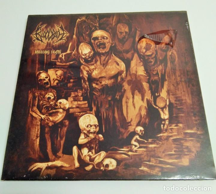 BLOODBATH ‎– BREEDING DEATH (Música - Discos de Vinilo - EPs - Heavy - Metal	)