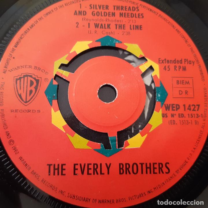 Discos de vinilo: THE EVERLY BROTHERS- JUST ONE TIME - FRANCE EP 1963 + TRICENTRE - VINILO CASI NUEVO. - Foto 3 - 229309593