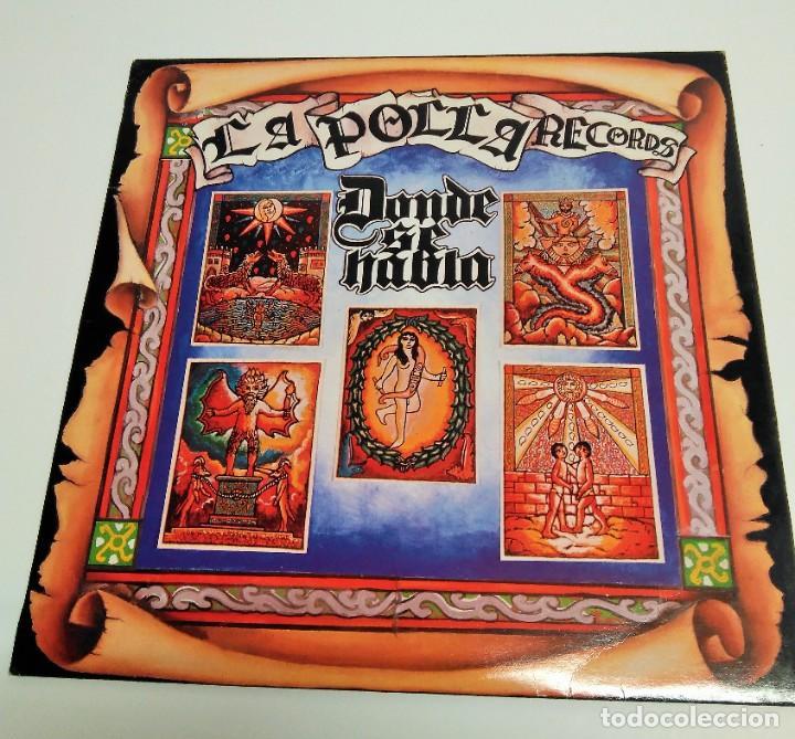 LA POLLA RECORDS – DONDE SE HABLA (Música - Discos - LP Vinilo - Heavy - Metal)