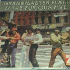 Discos de vinilo: DISCO DE VINILO GRANDMASTER FLASH & THE FURIOUS FIVE - 1982. Lote 229324635