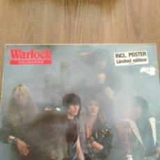"""Discos de vinilo: WARLOCK """" HELLBOUND """" . EDICIÓN ALEMANA. 1985. Lote 229330915"""