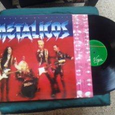 Discos de vinilo: METALICOS LP CORAZON DE METAL 1991 COMO NUEVO HEAVY VERSION KISS. Lote 229331115