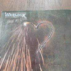 """Discos de vinilo: WARLOCK """" TRUE AS STEEL """". EDICIÓN ESPAÑOLA. 1986. Lote 229331885"""