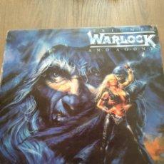 """Discos de vinilo: WARLOCK """" TRIUMPH AND AGONY """". EDICIÓN ESPAÑOLA. 1987. Lote 229332545"""
