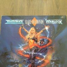 """Discos de vinilo: DORO - WARLOCK """" RARE DIAMONDS """". EDICIÓN. HOLANDESA. 1991. Lote 229336690"""