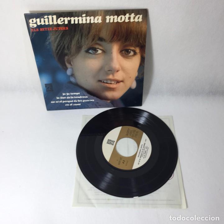 SINGLE GUILLERMINA MOTTA -- ELS SETZE JUTGES -- BARCELONA -- VG++ (Música - Discos - Singles Vinilo - Solistas Españoles de los 50 y 60)