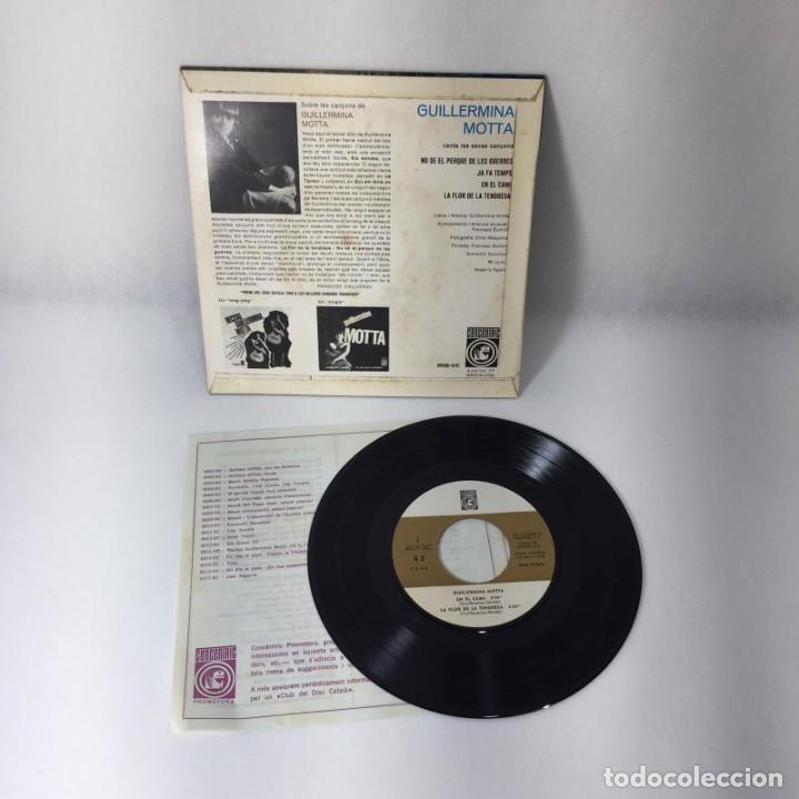 Discos de vinilo: SINGLE GUILLERMINA MOTTA -- ELS SETZE JUTGES -- BARCELONA -- VG++ - Foto 2 - 229353780