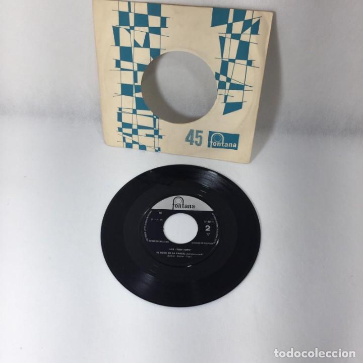 SINGLE LOS TEEN TOPS -- LA PLAGA -- 271.131.1F -- VG (Música - Discos - Singles Vinilo - Grupos Españoles 50 y 60)