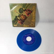 Discos de vinilo: SINGLE DÚO DINÁMICO --POESÍA EN MOVIMIENTO -- VG++. Lote 229367755