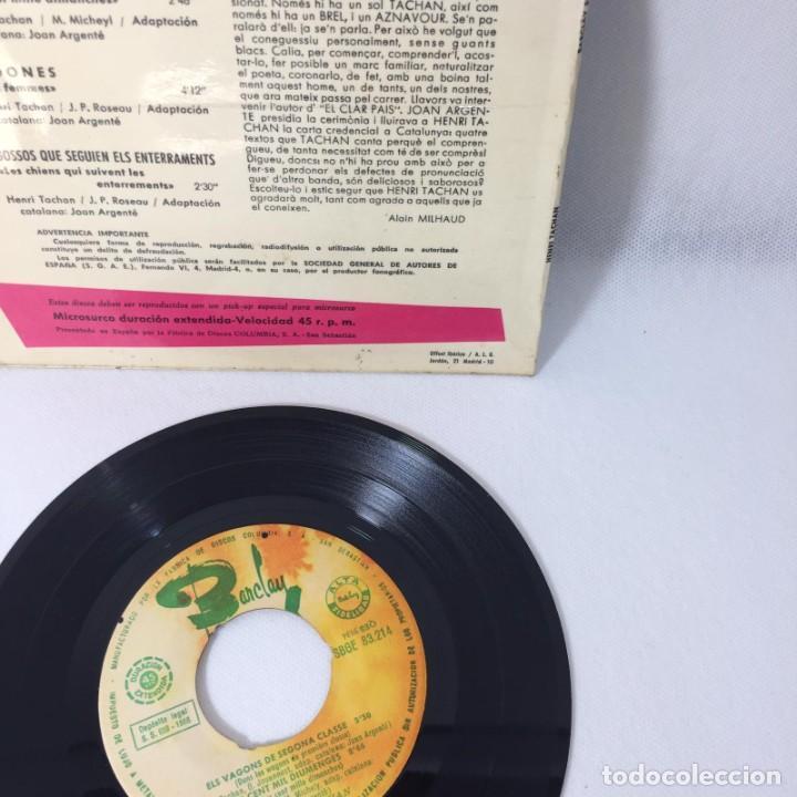 Discos de vinilo: SINGLE HENRI TACHAN -- CANTA EN CATALÁ LES DONAS + 3 TEMAS - Foto 2 - 229368220