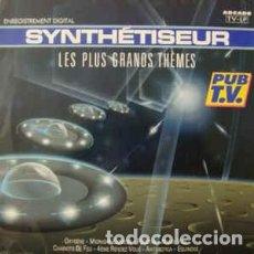 Discos de vinilo: ED STARINK – SYNTHÉTISEUR - LES PLUS GRANDS THÈMES - LP FRANCE 1989. Lote 229374985