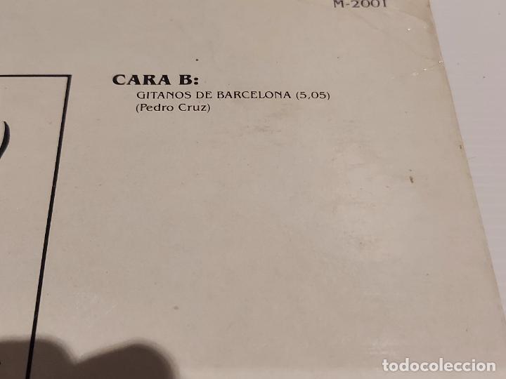 Discos de vinilo: CANDELA / GITANOS DE BARCELONA / MAXI SG - MARTANA-1989 / MBC. ***/*** - Foto 5 - 229394160