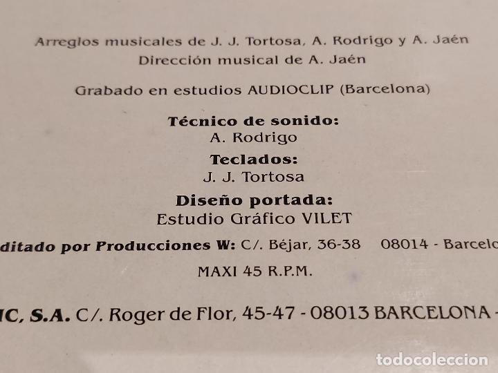 Discos de vinilo: CANDELA / GITANOS DE BARCELONA / MAXI SG - MARTANA-1989 / MBC. ***/*** - Foto 6 - 229394160