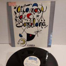 Discos de vinilo: CANDELA / GITANOS DE BARCELONA / MAXI SG - MARTANA-1989 / MBC. ***/***. Lote 229394160