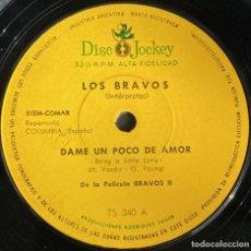 Discos de vinilo: SENCILLO ARGENTINO DE LOS BRAVOS AÑO 1967. Lote 249035670