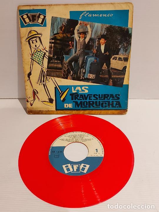 LAS TRAVESURAS DE MORUCHA / EP - IFI-1962 / VINILO DE BUENA CALIDAD.**/*** (Música - Discos de Vinilo - EPs - Bandas Sonoras y Actores)